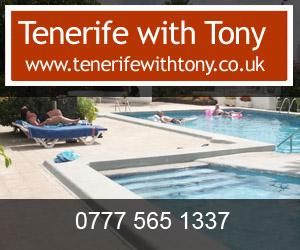Tenerife with Tony