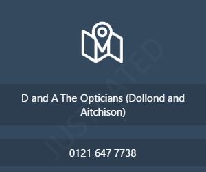 D&A The Opticians (Dollond & Aitchison)