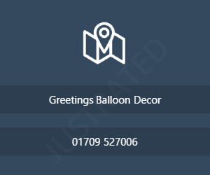 Greetings Balloon Decor