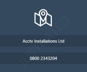 Acctv Installations Ltd