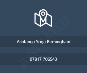 Ashtanga Yoga Birmingham