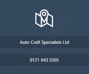 Auto Craft Specialists Ltd