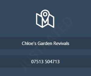 Chloe's Garden Revivals