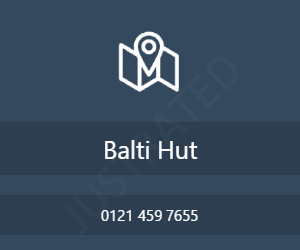 Balti Hut