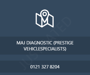 MAJ DIAGNOSTIC (PRESTIGE VEHICLESPECIALISTS)