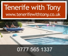 Tenerife with Tony