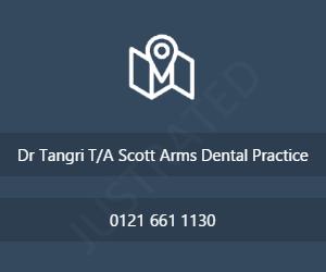 Dr Tangri T/A Scott Arms Dental Practice