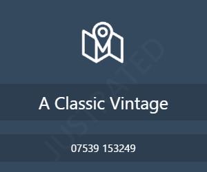 A Classic Vintage