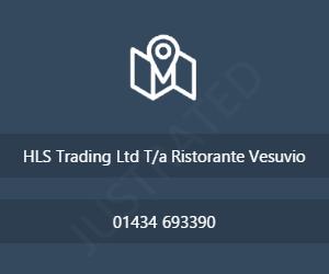 HLS Trading Ltd T/a Ristorante Vesuvio