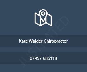 Kate Walder Chiropractor