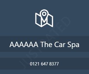 AAAAAA The Car Spa