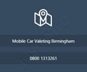 Mobile Car Valeting Birmingham