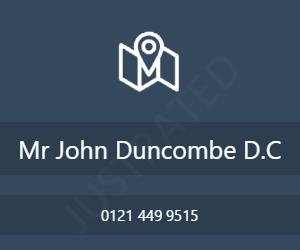 Mr John Duncombe D.C
