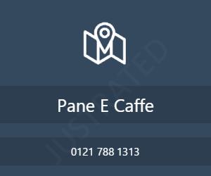Pane E Caffe