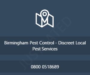 Birmingham Pest Control - Discreet Local Pest Services
