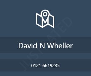 David N Wheller