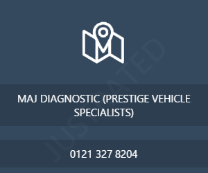 MAJ DIAGNOSTIC (PRESTIGE VEHICLE SPECIALISTS)