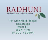 Radhuni Indian Restaurant